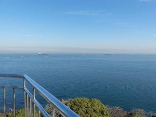 青い空と蒼い海