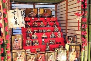ตุ๊กตาฮินะ (hina) ตุ๊กตาสำหรับงานเทศกาลเด็กผู้หญิง หรือเทศกาลฮินะมัตสึริ