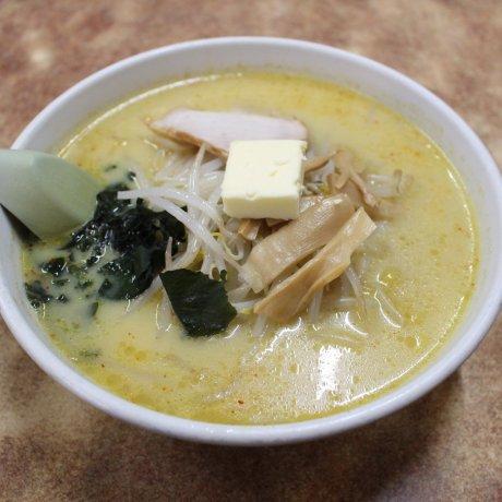 Nhà hàng Aji no Sapporo Onishi: Mì Ramen Cà Ri
