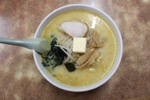 Aji no Sapporo Onishi: Curry Ramen