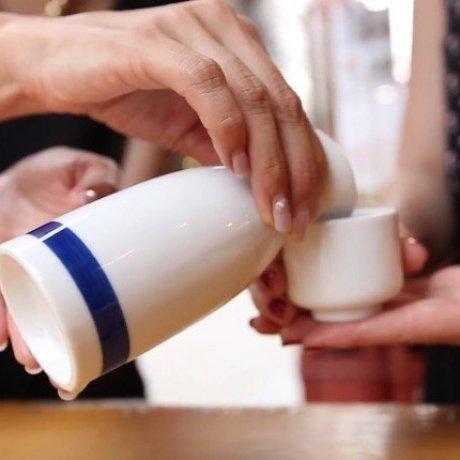 Mencoba Sake di Tokyo