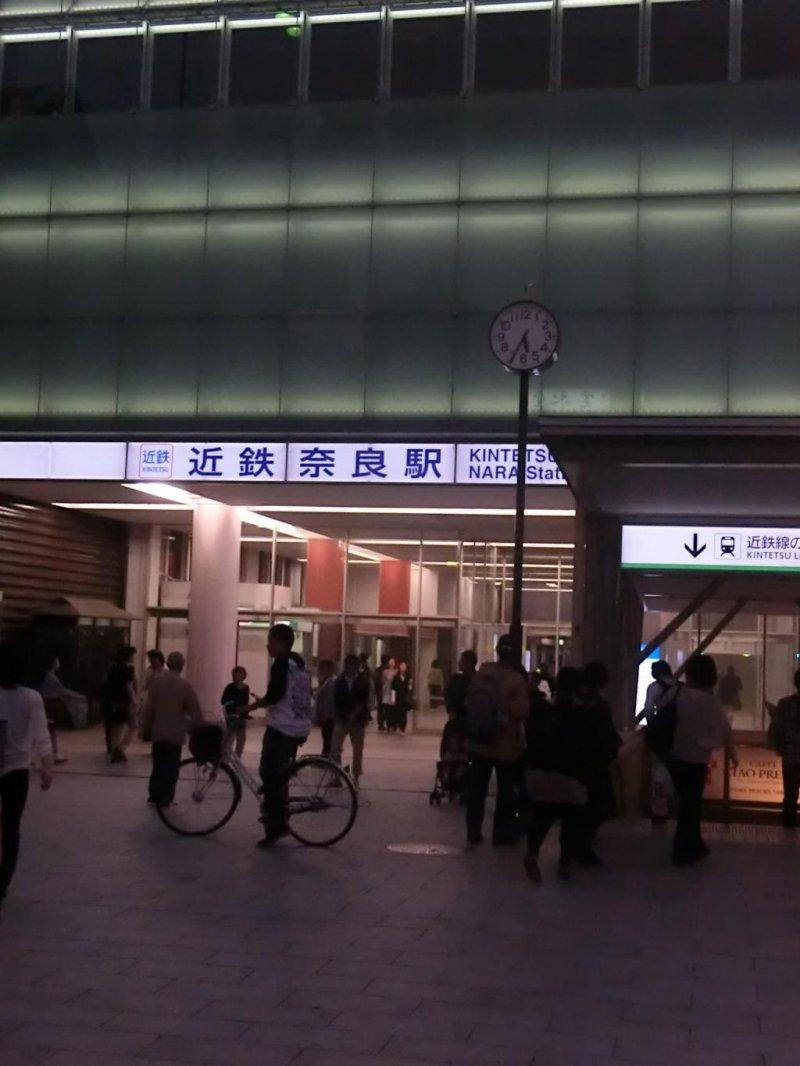 Kintetsu Nara station
