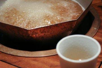 Wagyu-based shabu shabu broth