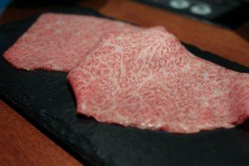 Shabu shabu beef