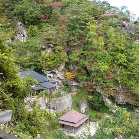 Hiking Up to Yamadera