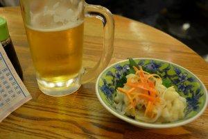 ビールマイスターが注ぐ生ビールが美味しい