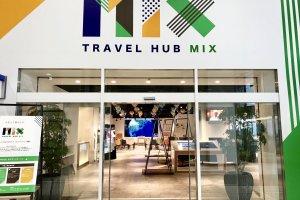 Pintu masuk Travel Hub Mix