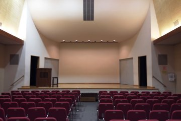 A beautiful acoustic hall at Osaka Christian Center