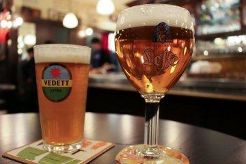 Belgian Beer at Antwerp Port