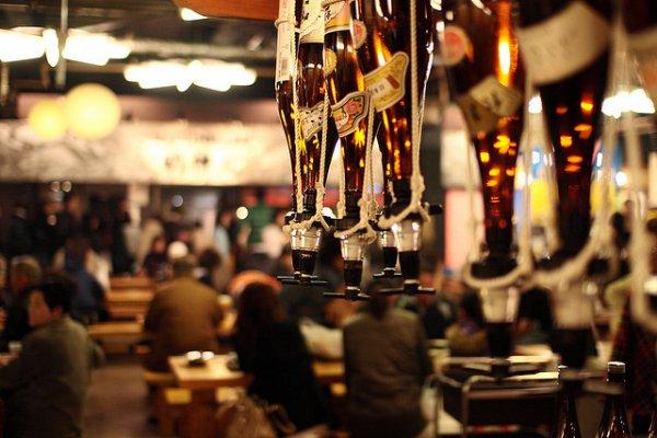 No shortage of sake at Hirome Ichiba