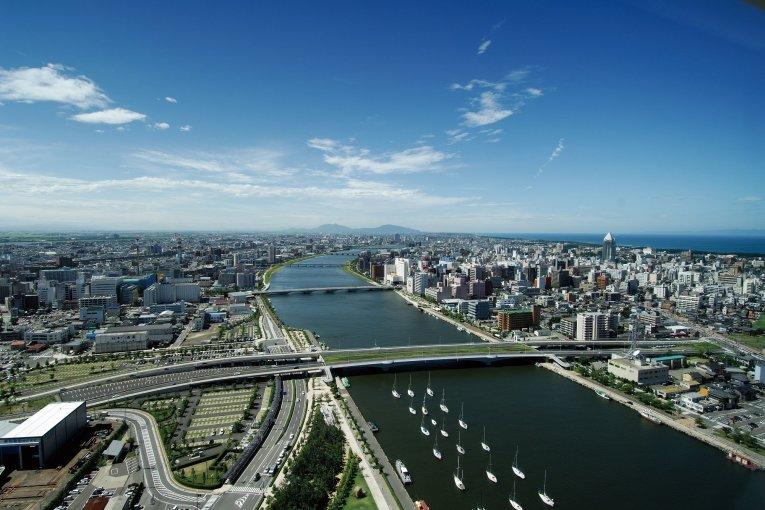 La ville de Niigata
