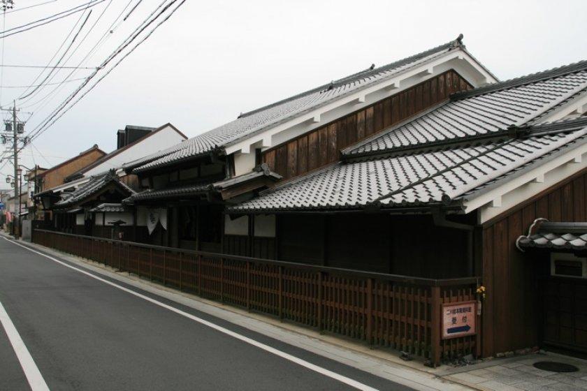 The Futagawa Juku Honjin on the Old Tokaido