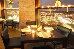 La Stella Modern Italian Restaurant on the top floor in the clouds above Shin Sapporo