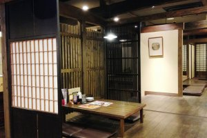 The Japanese style resting rooms at Nobeha no yu is a gentle place to relax after a Akasuri or body exfoliation scrub