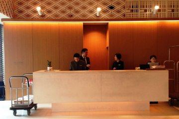 Be welcomed in a calming space in the Hyatt Regency Kyoto