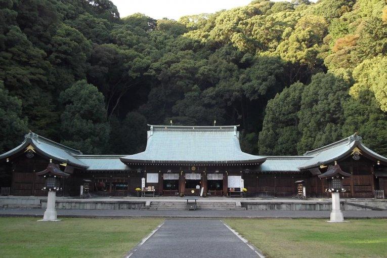 Gokoku-jinja Shrine in Shizuoka