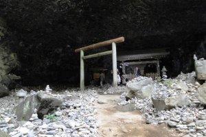 The cave where sun goddess Amaterasu hid
