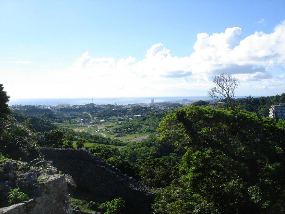 A royal view from Nakagusku