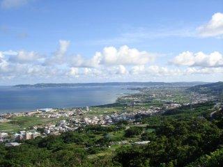 Castle's eye view of Okinawa
