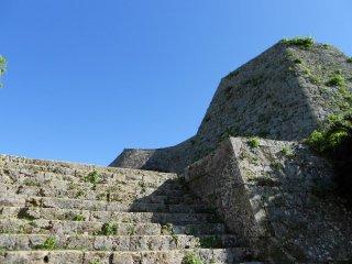 Ascending the castle