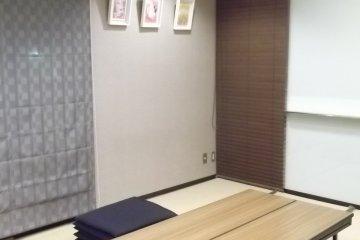Одна из переговорных комнат