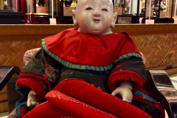 A centuries-old baby doll