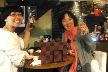 Say Cheers at Volta Bar and Bistro in Osaka