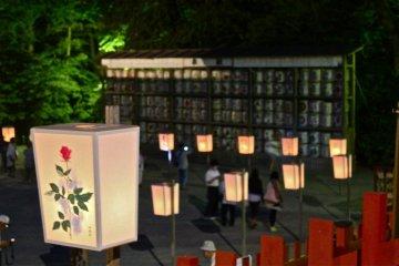 บอนโบะริมัทซึตริที่คามาคุระ