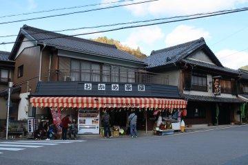 Huge souvenir shop