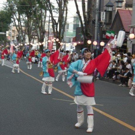 เทศกาล Sakado Yosakoi
