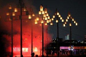 เทศกาลแห่งไฟ Tejikara ในฤดูร้อน