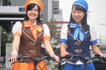 ラブライブ聖地巡礼自転車ツアーの開催