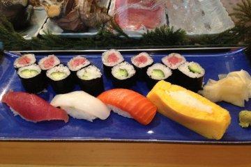 Sushi Yamazaki, Tsukiji Fish Market