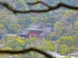 쓰루가오카 하치만구의 원경