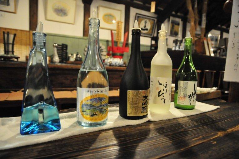 Tur Pabrik Sake di Pulau Awaji