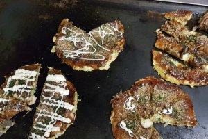 Okonomiyaki in Awaji-shima