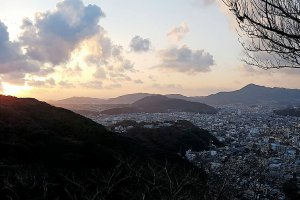 Sunset at Sumoto
