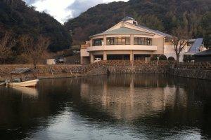Goshiki Onsen seen from the Wellness Park