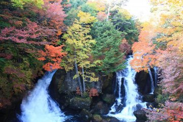 Nikko isn't just about shrines and temples. It also has some stunning natural scenery.