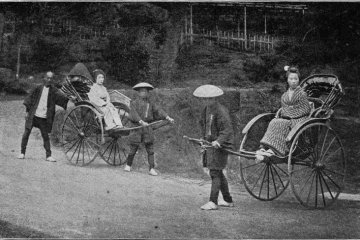 Rickshaw was a common mode of transport in Isabella's time.