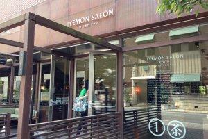 Iyemon Cafe moments from Karasuma Oike Subway Exit 6 Kyoto