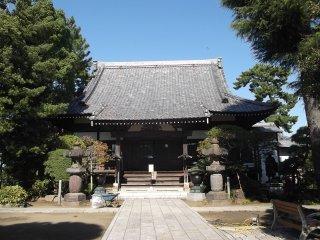The main prayer hall
