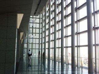 """يقع رواق السماء """"ميكي"""" في الطابق الخامس عشر في برج ناجويا"""