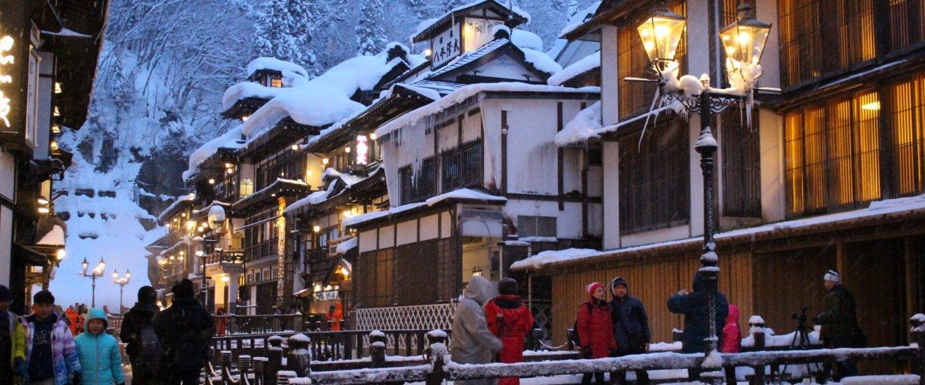Welcome to Ginzan Onsen, Obanazawa, Yamagata