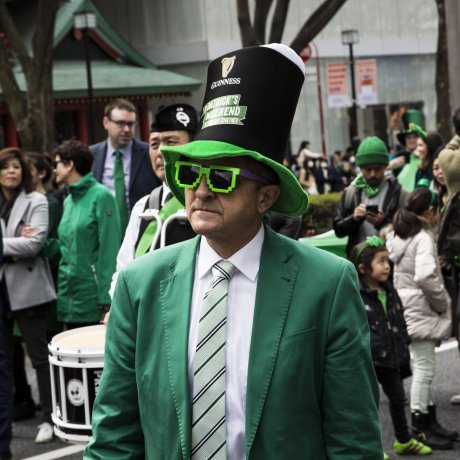 St. Patrick's Day Parade Tokyo