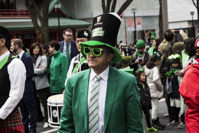 2018 St. Patrick's Day Parade Tokyo