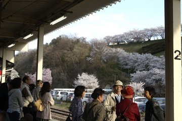 A view from Mihahu Machi Station