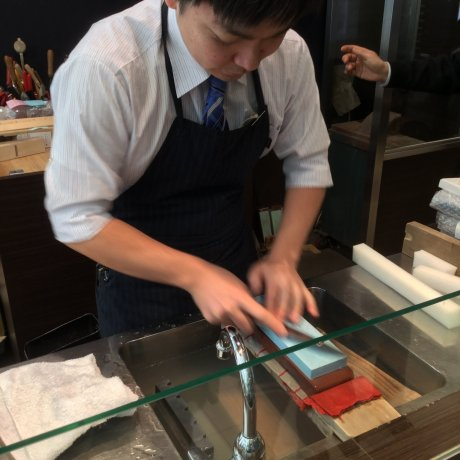 Cửa hiệu dao Nhật Bản - Kiya