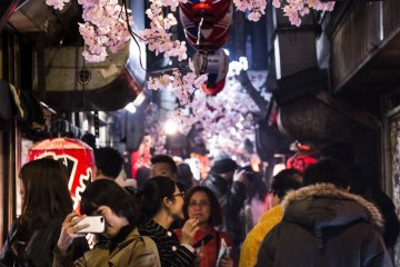 Omoide Yokocho in Shinjuku is popular for foodies, and is a haven for photographers due to the eclectic mix of people, lights, and smoke