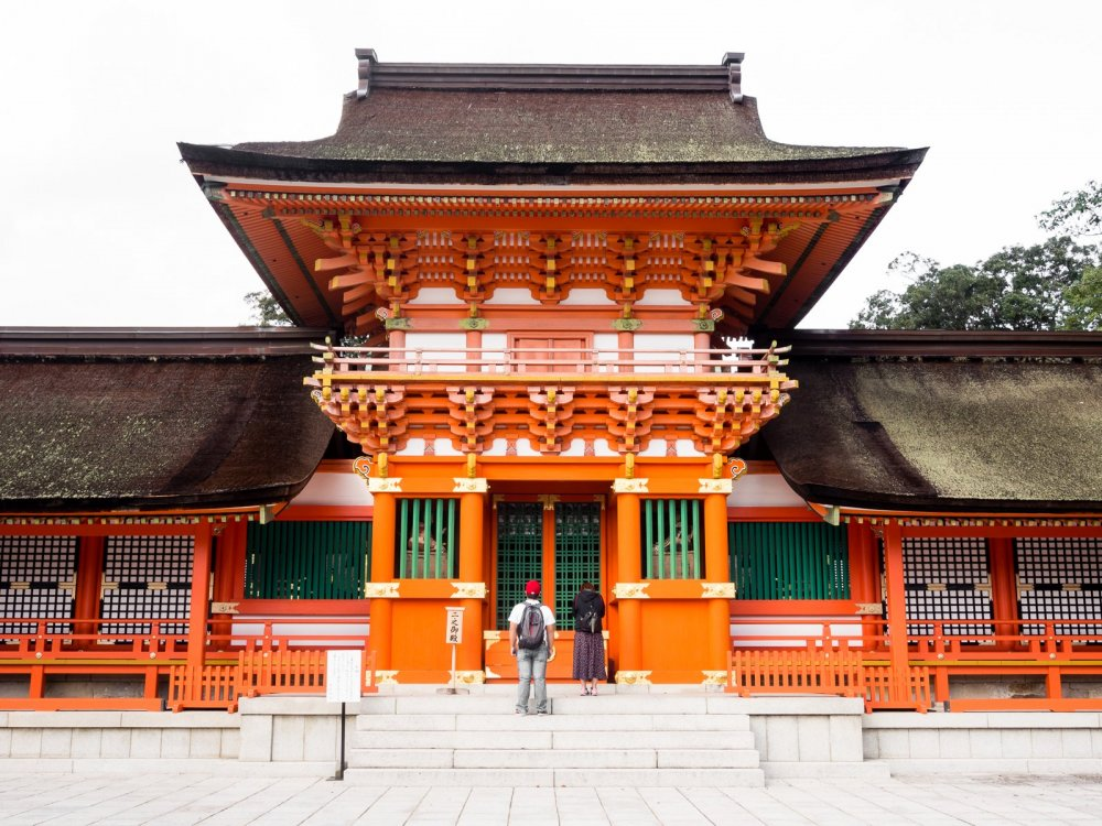 Usa-jingū is one of the most important shrines in Japan